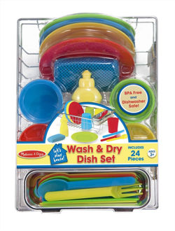 Picture of Let's Play House! Wash & Dry Dish Set