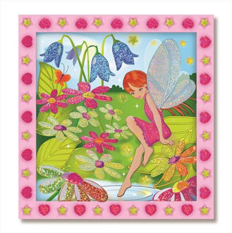 Picture of Flower Garden Fairy Peel & Press Sticker by Numbers Item