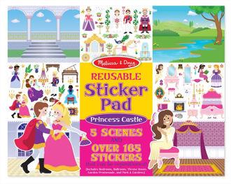 Picture of Reusable Sticker Pad - Princess Castle