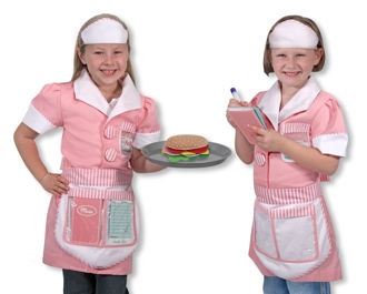 Picture of Waitress Role Play Costume Set