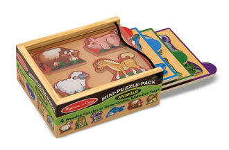 Picture of Animal Mini-Puzzle Pack