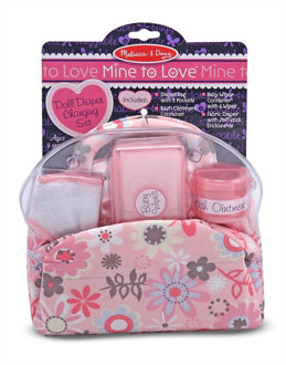 Picture of Doll Diaper Changing Set