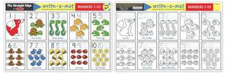 Picture of Write-a-mat Numbers 1-10