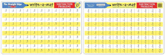 Picture of Write-a-mat Subtraction