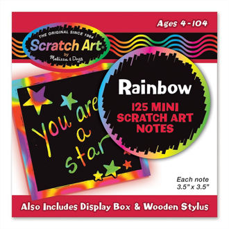 Picture of Box of Rainbow Mini Notes