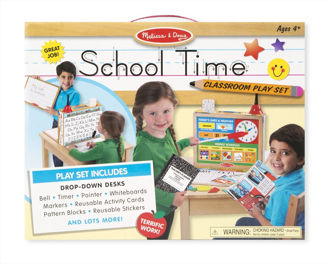 Picture of School Time Classroom Play Set