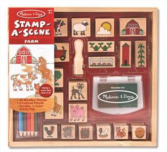Picture of Stamp-a-Scene - Farm
