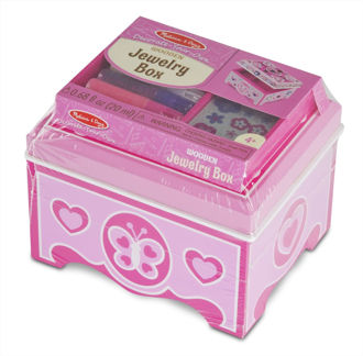 Picture of Created by Me! Jewelry Box Wooden Craft Kit