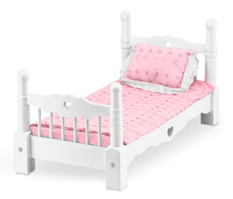 Picture of Wooden Doll Bed