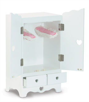 Picture of Wooden Doll Armoire
