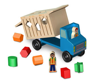 Picture of Shape-Sorting Dump Truck