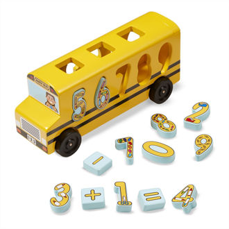 Picture of Number Matching Math Bus