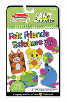 Picture of Craft Activity set  Felt Friends Stickers
