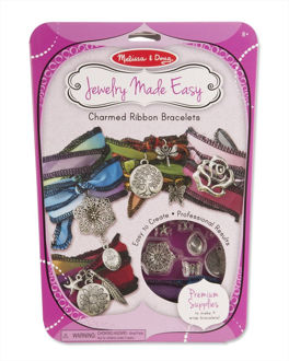 Picture of Jewelry Made Easy Charmed Ribbon Bracelets