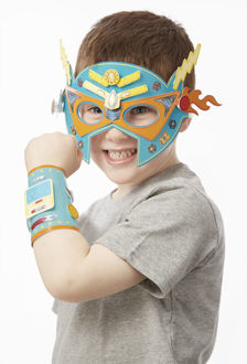 Picture of Superhero Masks & Cuffs