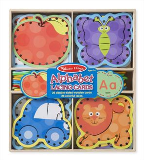 Picture of Alphabet Lacing Cards