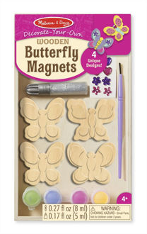 Picture of Wooden Butterfly Magnets