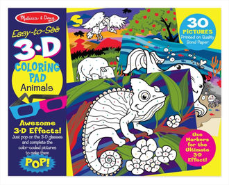 Picture of Animals 3D coloring
