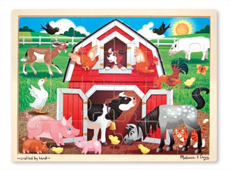 Picture of Barnyard (24pc) Jigsaw puzzles