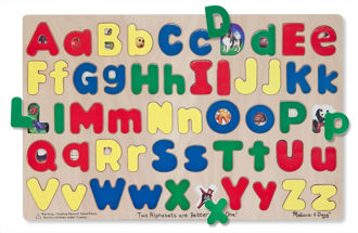 Picture of Upper and Lowercase Alphabet puzzles