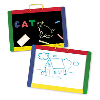 Picture of Magnetic Chalkboard/Dry-Erase Board