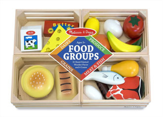 Picture of Wooden Play Food Groups