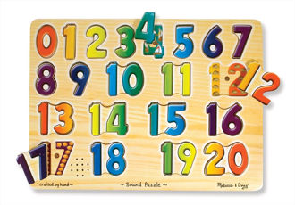 Picture of Numbers Sound Puzzle