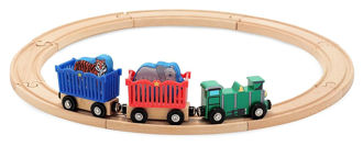 Picture of Zoo Animal Train Set