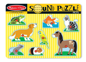 Picture of sound puzzle Pets