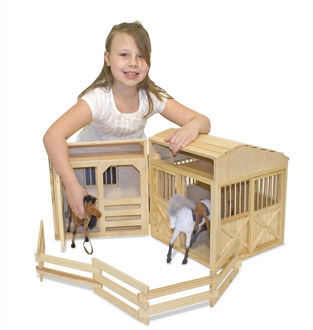 Picture of Folding Horse Stable