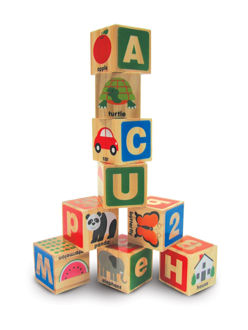 Picture of ABC 123 Wooden Blocks