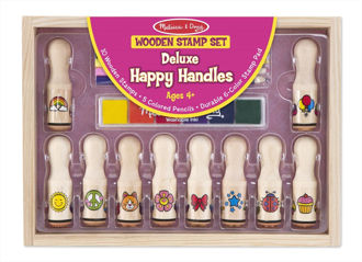 Picture of Deluxe Happy Handles Stamp set