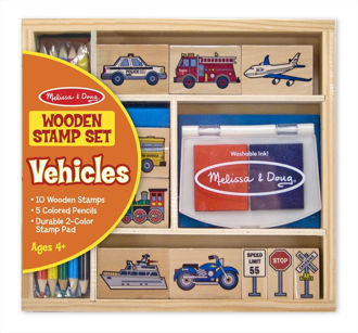 Picture of Vehicles Stamp Set