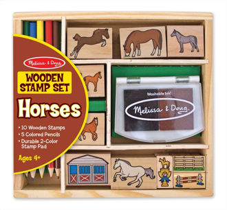Picture of Horse stamps set