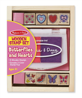 Picture of Butterfly and Hearts Stamp Set