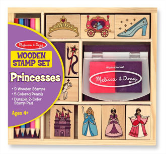 Picture of Wooden Princesses Stamp Set