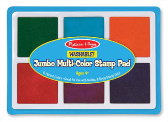 Picture of Jumbo Multi-Color Stamp Pad