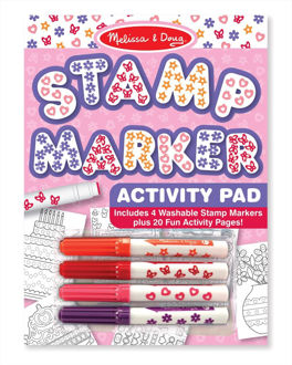 Picture of Stamp Marker Activity Pad - Pink