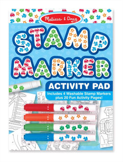 Picture of Stamp Marker Activity Pad - Blue
