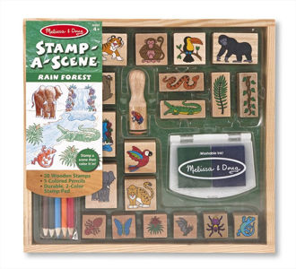 Picture of Stamp-a-Scene - Rain Forest