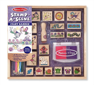 Picture of Stamp-a-Scene - Fairy Garden