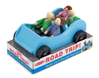 Picture of Road Trip! Car & Doll Set