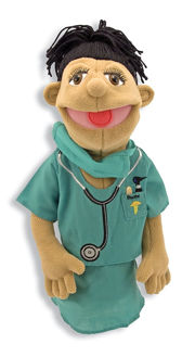 Picture of Doctor puppet