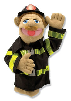 Picture of Firefighter Puppet