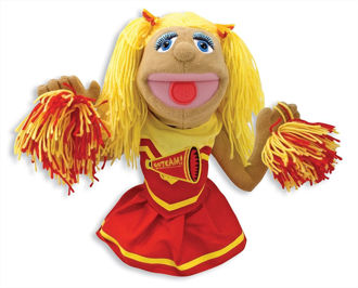 Picture of Cheerleader hand puppets