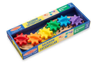 Picture of Rainbow Caterpillar Gear Toy