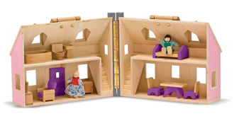 Picture of Fold & Go Dollhouse
