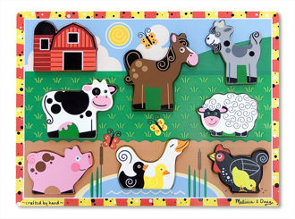 Picture of Farm Animals chunky puzzle