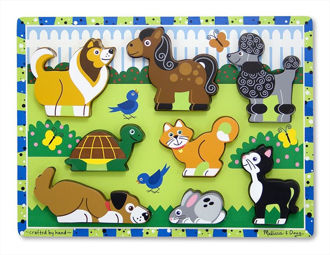 Picture of Pets chunky puzzle