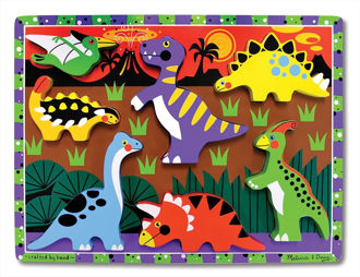 Picture of Dinosaurs Chunky puzzle